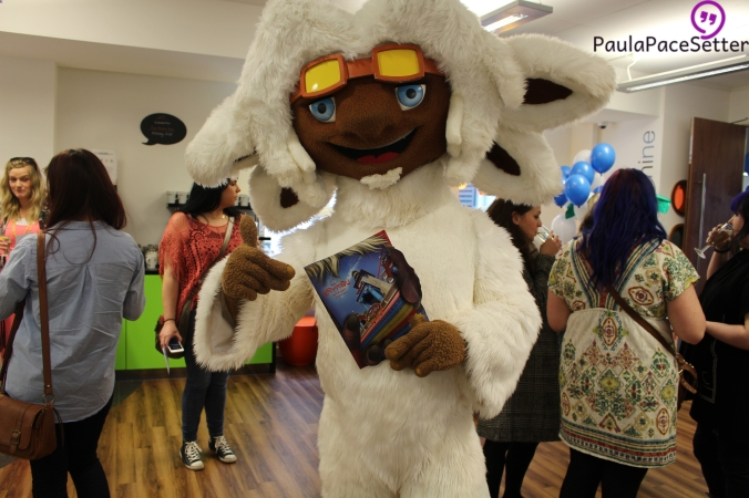 Sol Katmandu's very own mascot - Boro the Yeti!